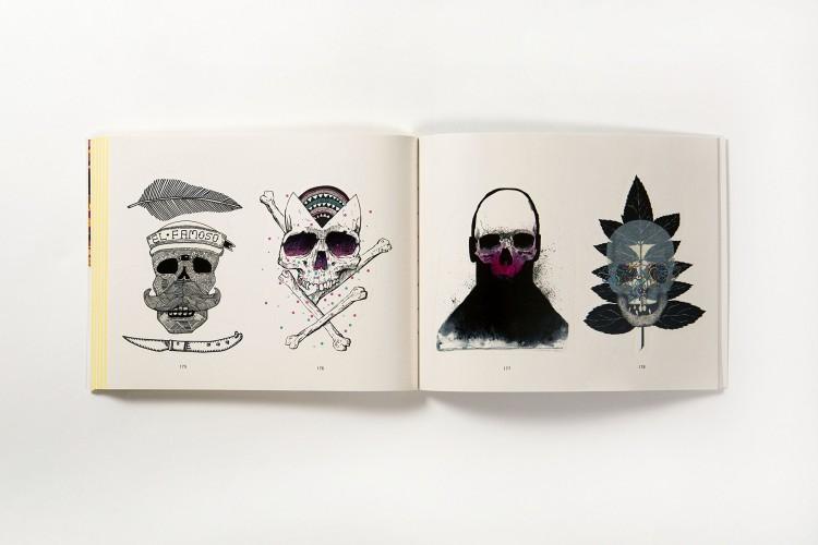 81AOE+5rh9L 750x500 Book review: Stickerbomb Skulls