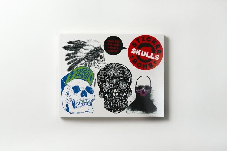81nd1eRrl2L 750x500 Book review: Stickerbomb Skulls