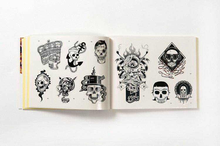 Book review: Stickerbomb Skulls