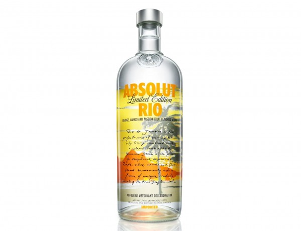 Absolut Rio Bottle