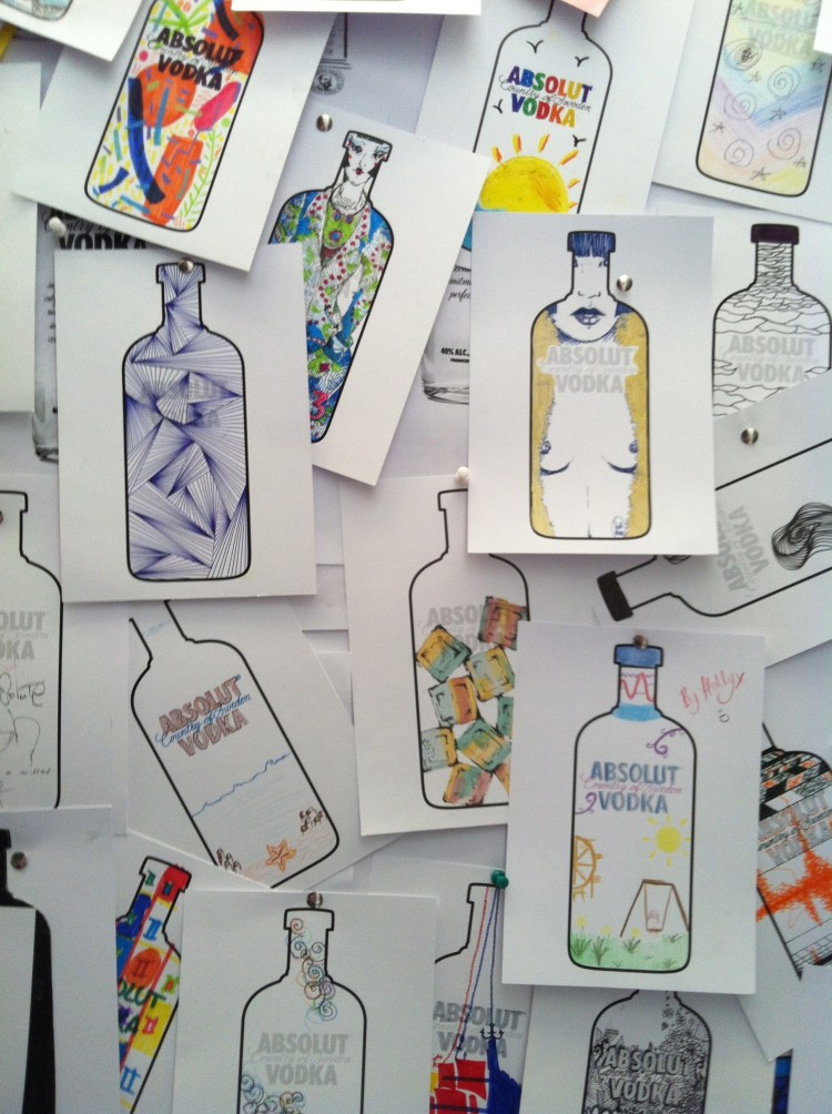 Absolut supporting up and coming designers at this year's New Designers exhibition