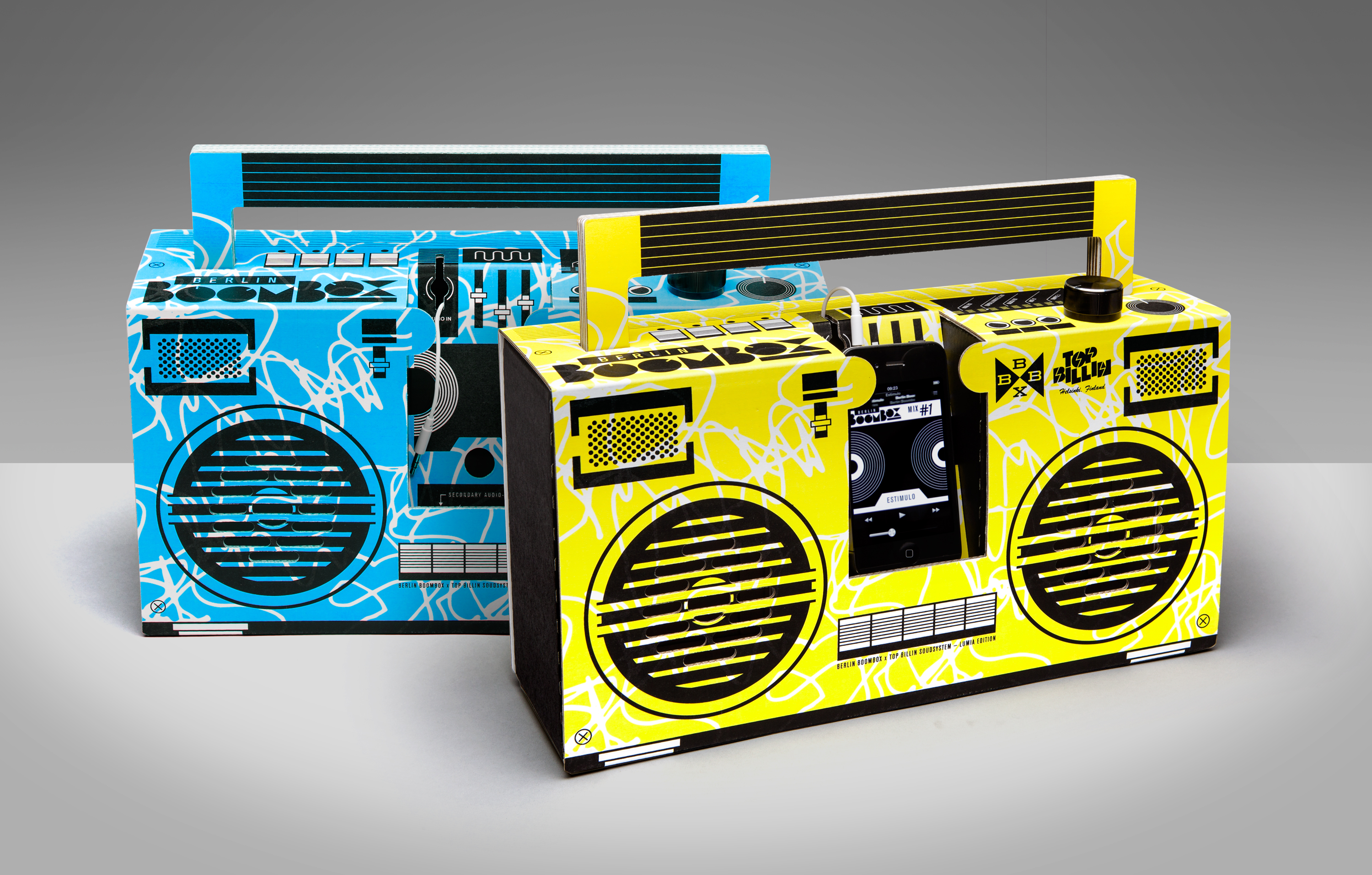 Montana Boombox - Customize Your Own Ghettoblaster