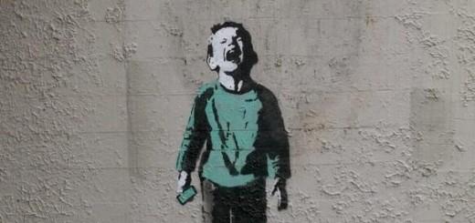 New Banksy pokes fun at social media