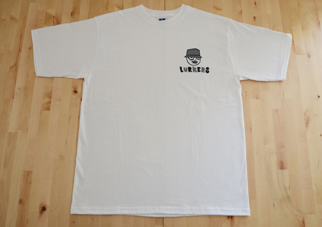The Lurkers release a logo tshirt
