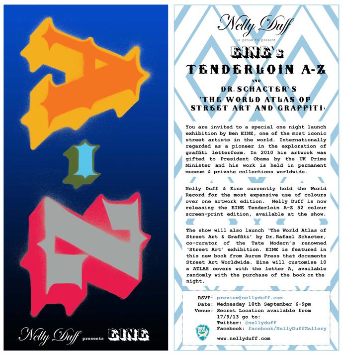 EFE1 Nelly Duff Press Release: Ben EINE Tenderloin A Z