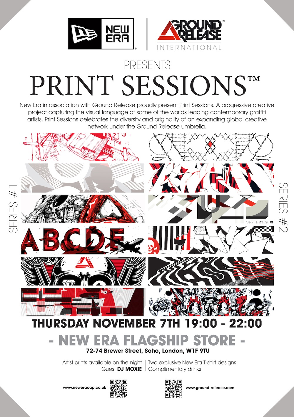 New Era x Ground Release Present Print Sessions