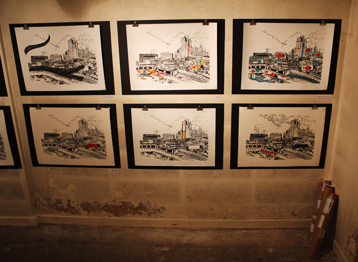 John Dolan exhibition photos
