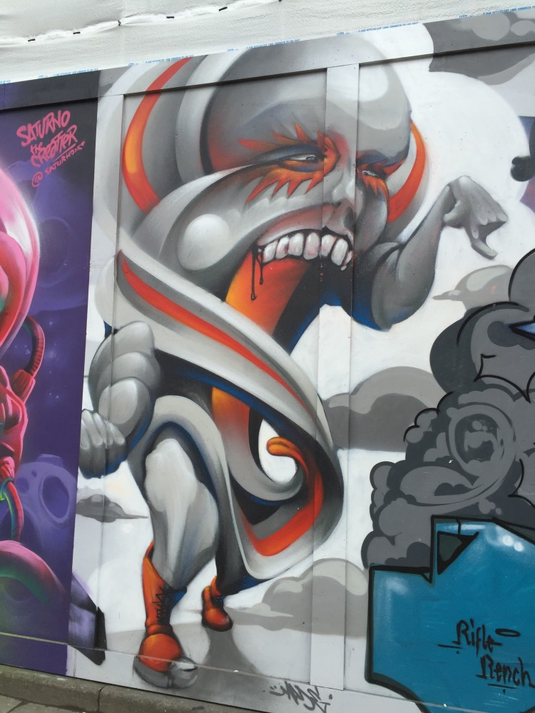 My street art tour of East London