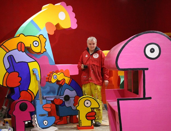 Thierry Noir Jazz Howard Griffin Gallery