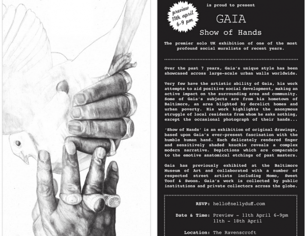 Gaia A Show of Hands Exhibition