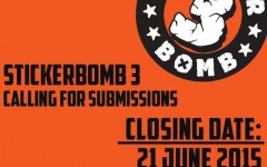 Stickerbomb 3 Call for Artists