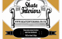 Skate Interiors Skateboard Furniture