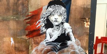 New Banksy mural in Knightsbridge, London