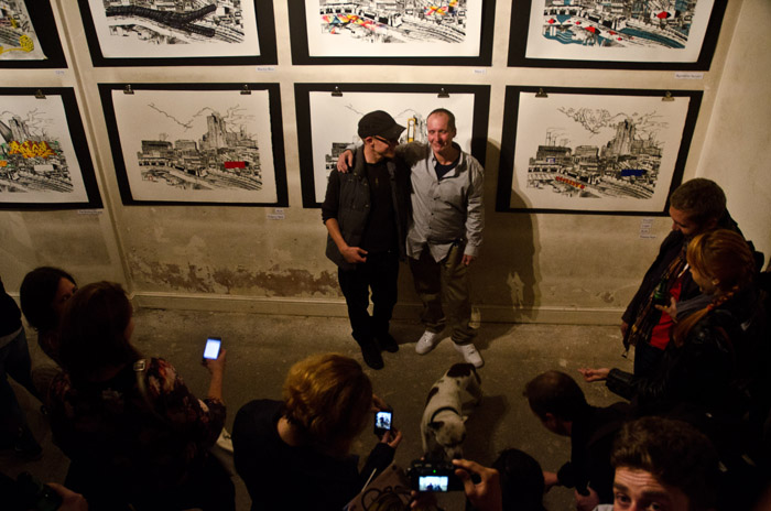 Stik and John Dolan John Dolan exhibition photos