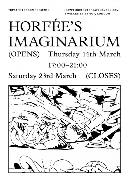 Topsafe Presents: Horfee's Imaginarium London Exhibition