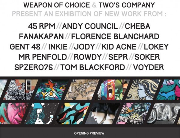 Weapon of Choice Group Exhibition 2015