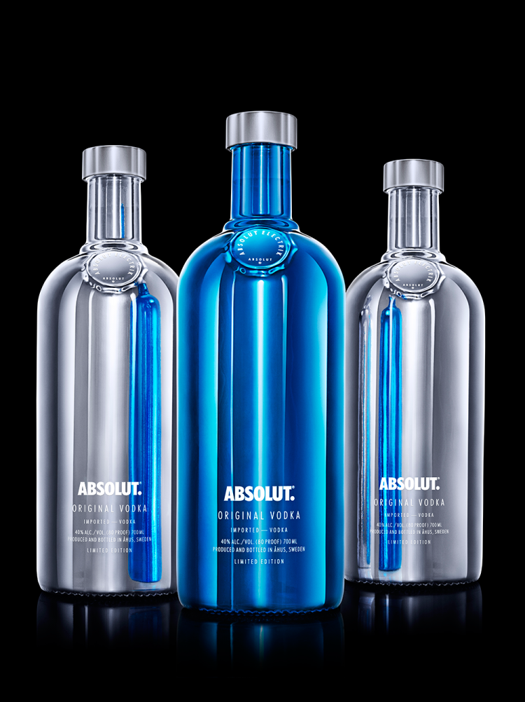 Absolut Launch new Limited Edition Bottles