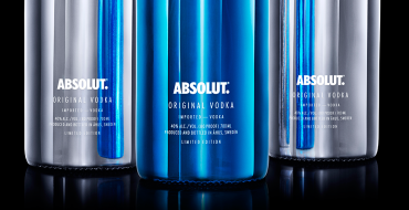 Absolut Silver Blue Electrik