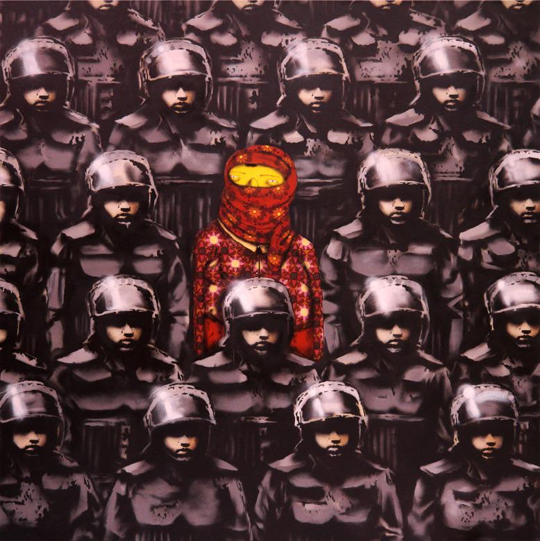 b osgen 2 corrected sized 01 Banksy x Os Gemeos in New York