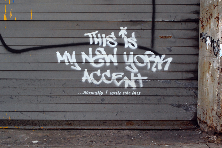 Second Banksy piece in New York