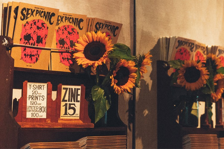 "Video: Broken Fingaz ""Sex Picnic"" Zine launch in London"