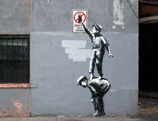 Banksy New York Street Art