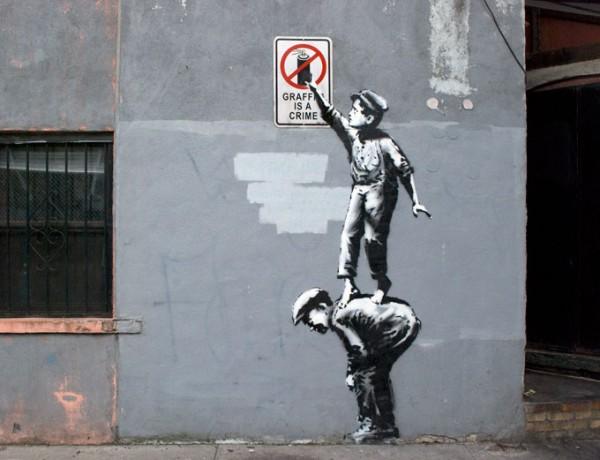 Banksy New York Street Art