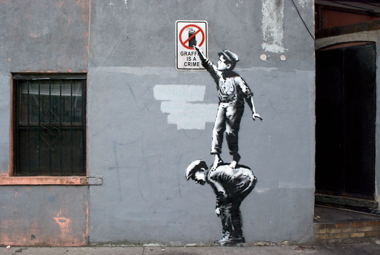 Banksy launches NYC street art show