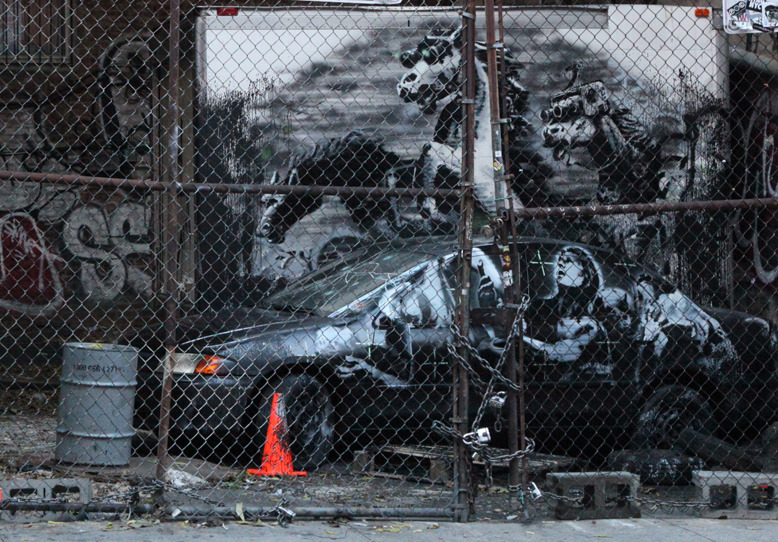 Banksy Lower East Side