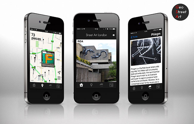 Street Art London relaunch their iPhone app with a brand new version