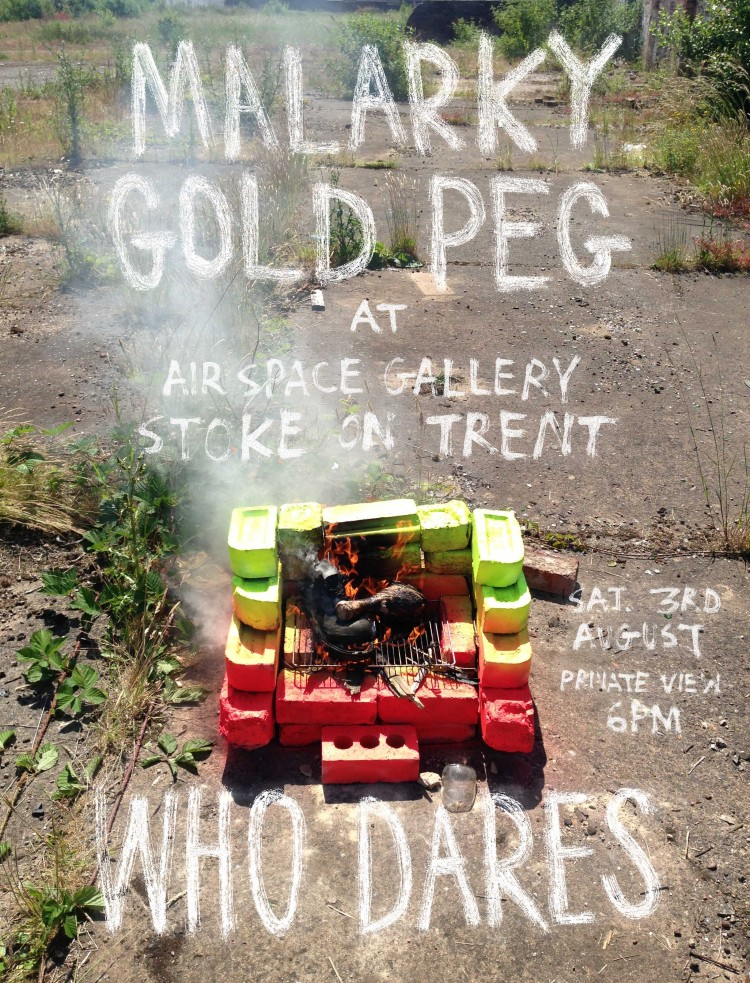 Malarky & Goldpeg present 'Who Dares' Exhibition
