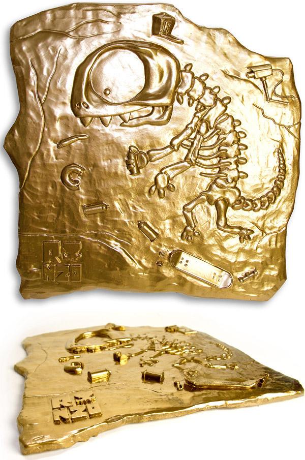 Ronzo - 'Skater Saurus' Gold Edition