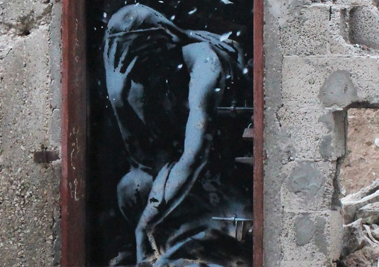 New Banksy artworks in Gaza