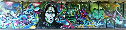 hush km and title 526x128 100 UK Graffiti Artists #1