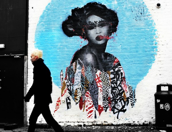 Hush Newcastle Street Art