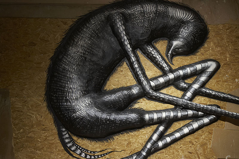 Phlegm - The Bestiary at The Howard Griffin Gallery, London