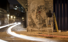 Vhils in London 2012
