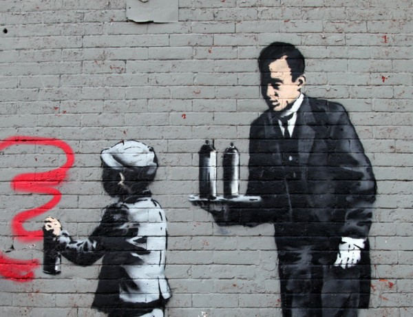 Banksy Ghetto 4 Life South Bronx