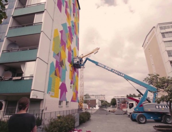 Spraying Bricks: Hanging with ABOVE at Artscape in Malmo