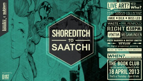 Shoreditch to Saatchi