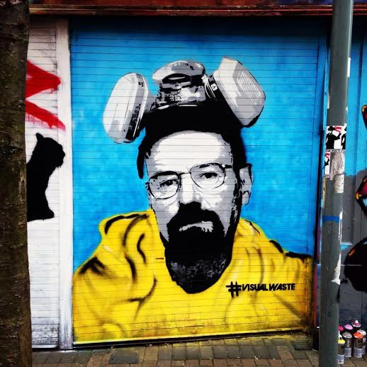 Breaking Bad by Dean Kane www.visualwaste.co.uk