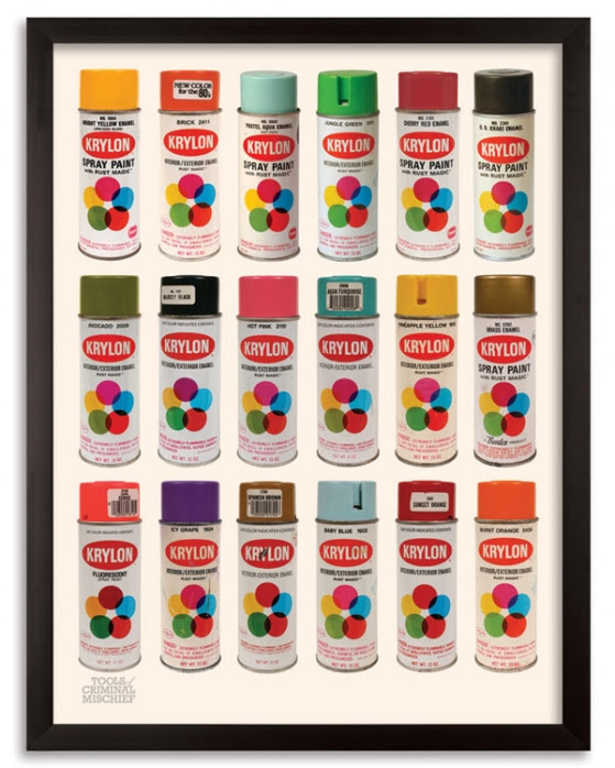 "Roger Gastman's Krylon Edition ""Tools of Criminal Mischief : The Can IV"""