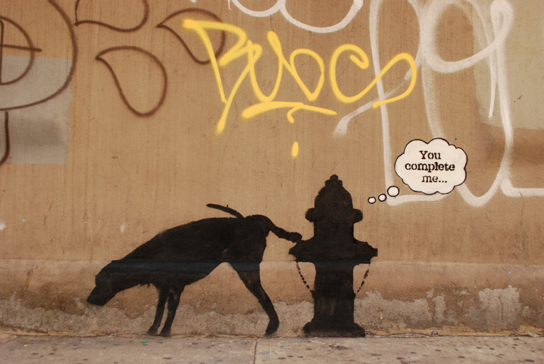 Banksy No. 3 in New York